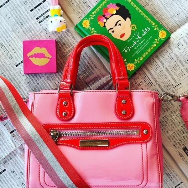 cartera rosa chicle verano 2019 - Jackie Smith