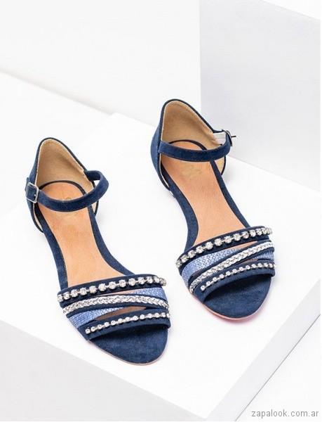 sandalais azules verano 2019 - Sofi Martire