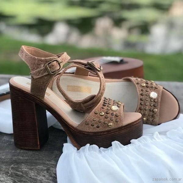 sandalias altas verano 2019 - anca co