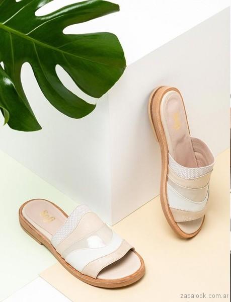 sandalias planas juveniles verano 2019 - Sofi Martire
