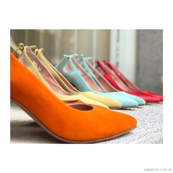 stilettos de colores primavera verano 2019 - Alfonsina Fal