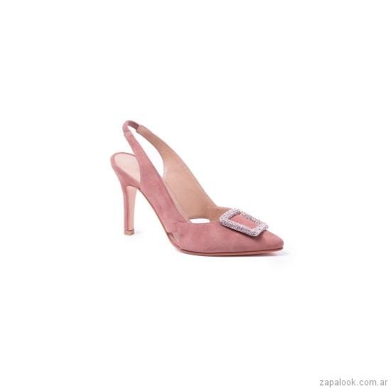 stilettos rosados verano 2019 De Maria calzados