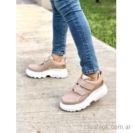 zapatillas con abrojos juveniles verano 2019 - Pamuk