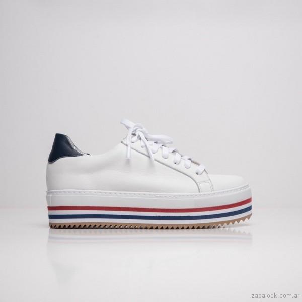 zapatillas con plataformas verano 2019 - Calzados DONNE