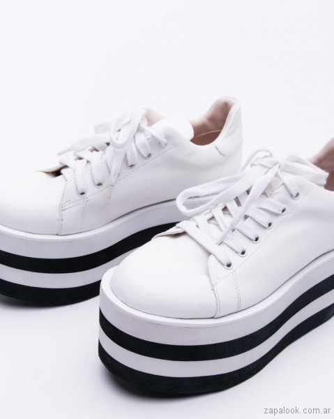 zapatillas con plataformas verano 2019 - calzados adolescentes 47 Street