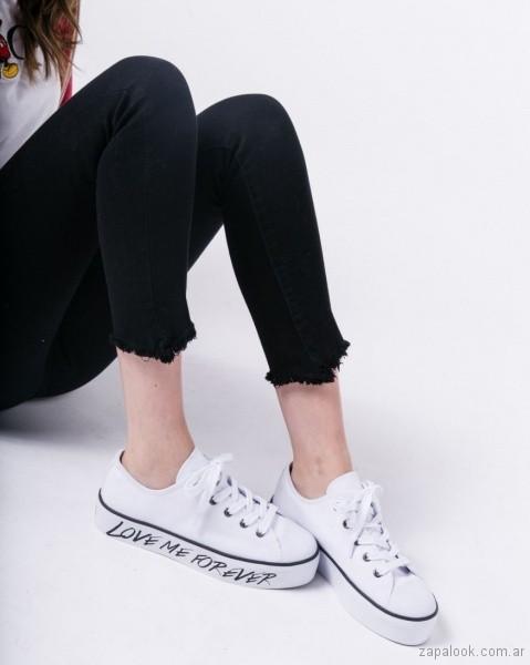 zapatillas de lona verano 2019 - calzados adolescentes 47 Street