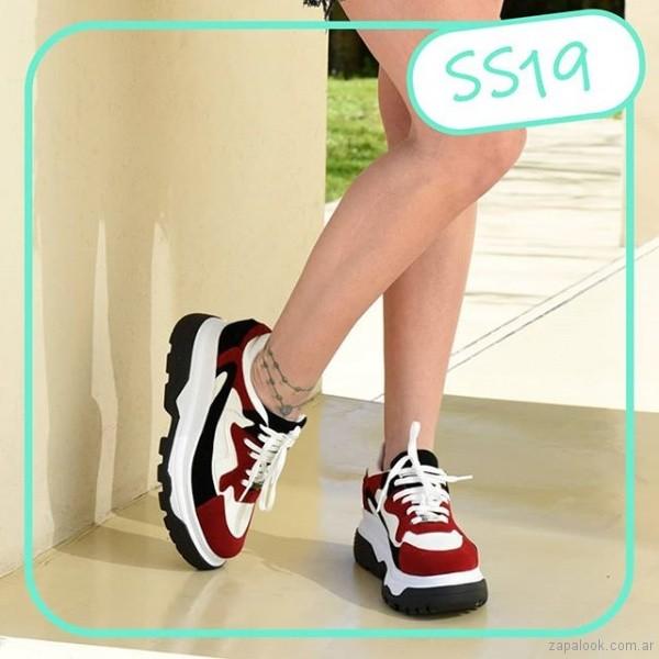 zapatillas de moda mujer verano 2019 - Nazaria