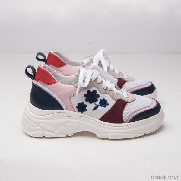 zapatillas estilo deportivas para mujer verano 2019 - Calzados DONNE