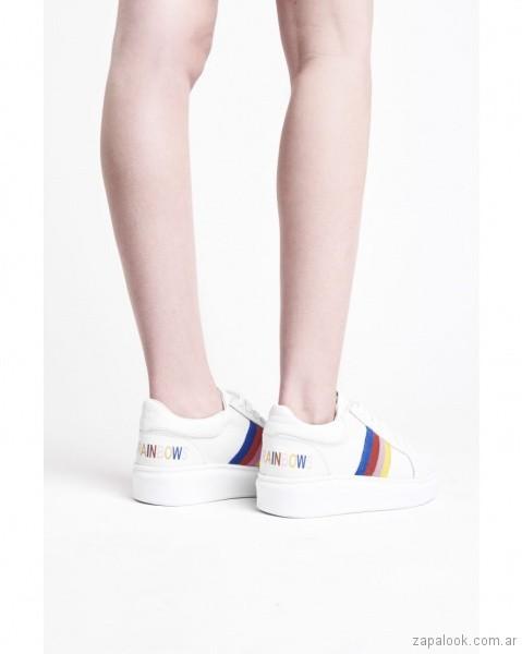 zapatillas frana multicolores verano 2019 - calzados adolescentes 47 Street