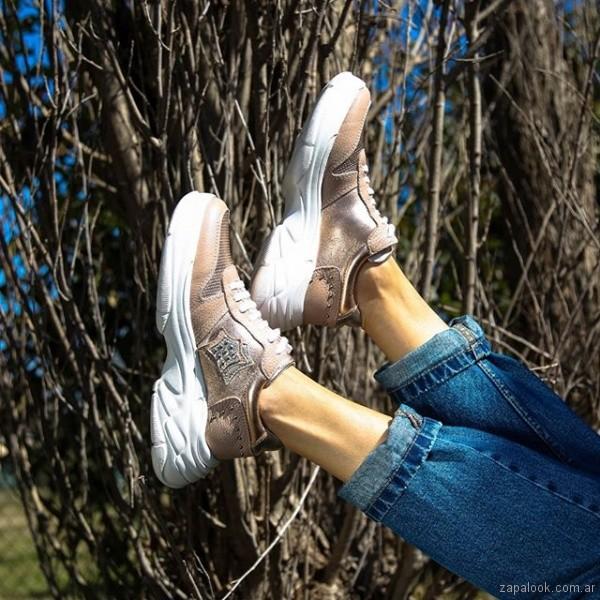 zapatillas rosadas verano 2019 - Paloma Cruz