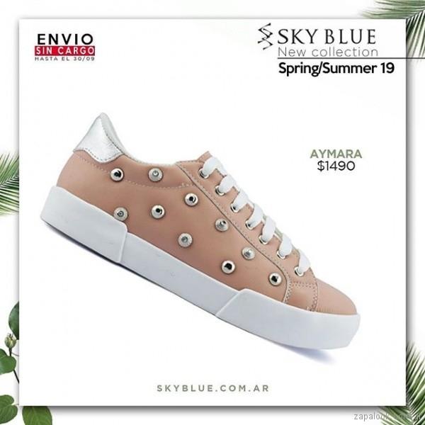 ab7376e5ab zapatillas rosas verano 2019 – Sky Blue – Zapalook