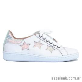 zapatillas urbanas juveniles con estrella verano 2019 - Pamuk