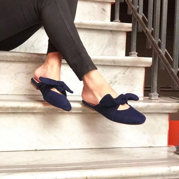 zapatos con nudos para mujer primavera verano 2019 - Le Loup