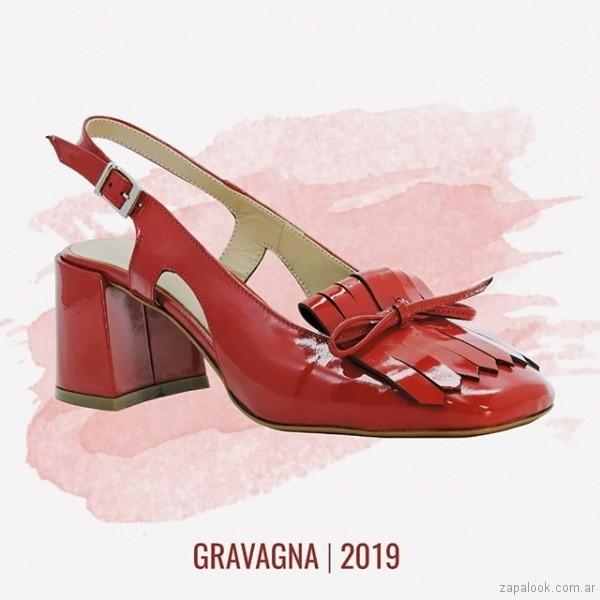 objetivo retirada administrar  mocasines rojos con tacos verano 2019 – Gravagna | Zapalook