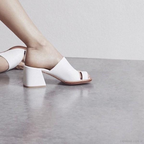 sandalias estilo zueco 2019 Sibyl Vane