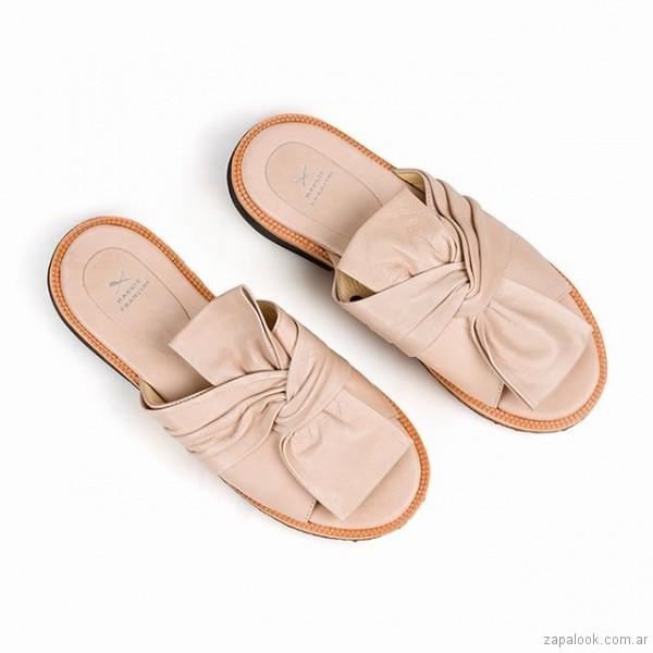 sandalias rosa claro verano 2019 - Margie Franzini