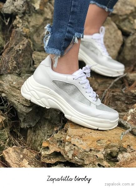 zapatillas de moda juveniles verano 2019 - Luna Chiara