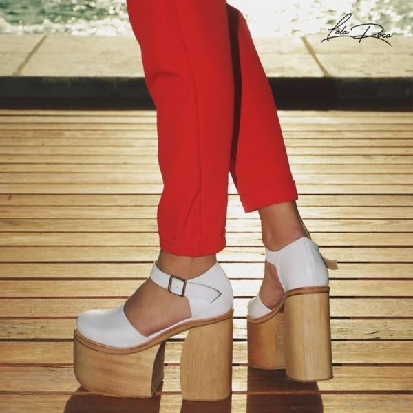 Excelente calidad descubre las últimas tendencias 100% de garantía de satisfacción zapatos blancos con plataformas verano 2019 – Lola Roca ...