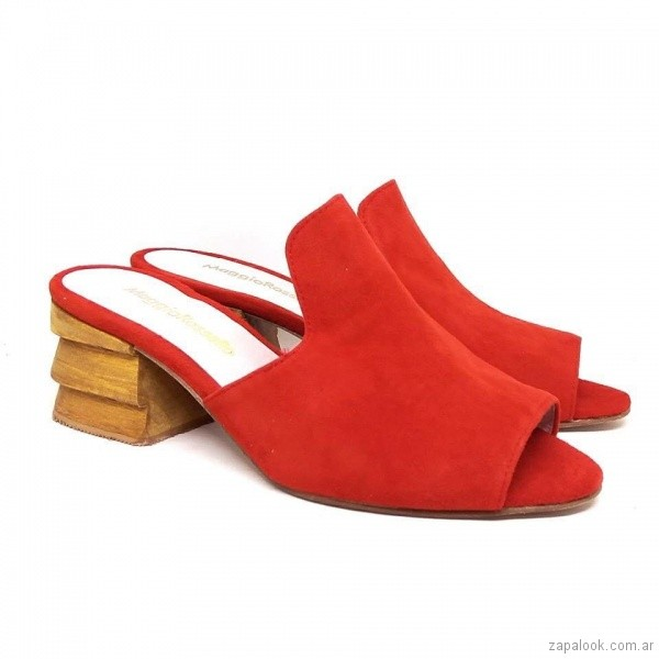 sadalias rojas verano 2019 verano 2019 - Magali Shoes