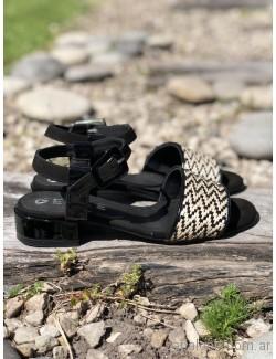 sandalias bajas negras y blancas verano 2019 - Los GeKkes