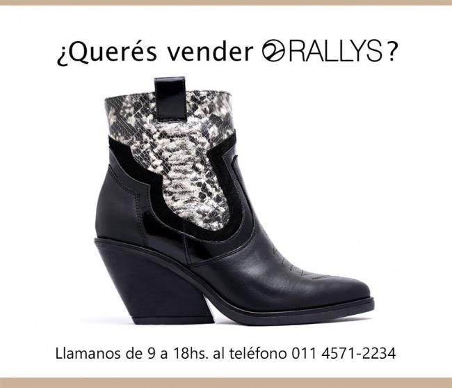 Rallys - Botas estampa reptil para mujer invierno 2019