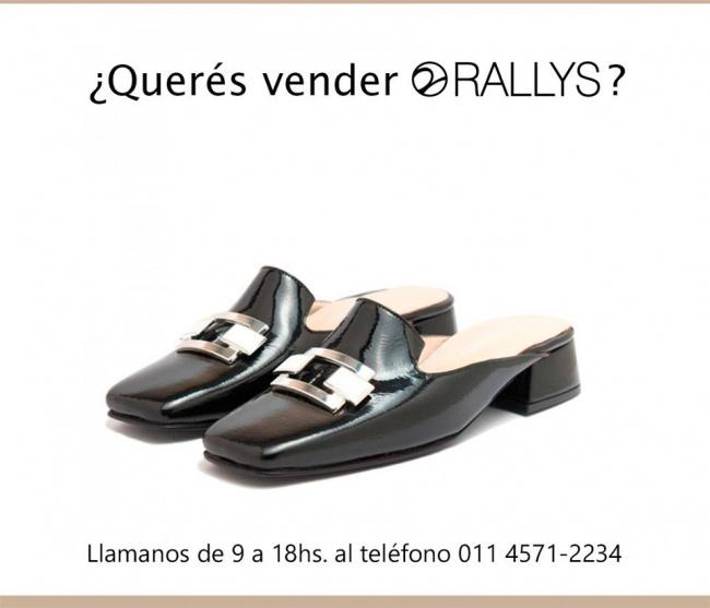 Rallys - Mules negros elegantes para mujer invierno 2019