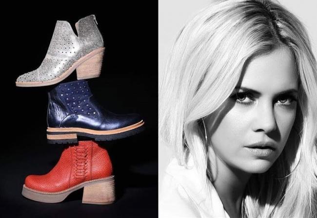 d5b823024b Las botas cañas cortas de Bettona se vienen en múltiples colores y  texturas  el clásico negro