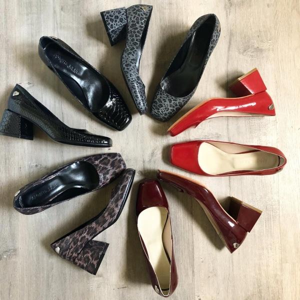 zapatos de punta redonda  invierno 2019 - amor y julia