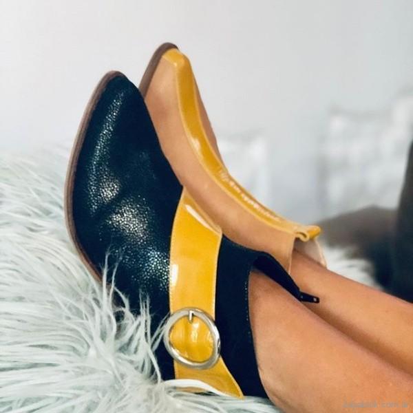 botas con amarillo invierno 2019 LOWE