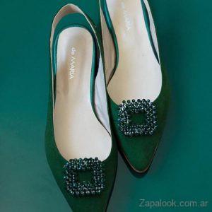Calzados De Maria - Stilettos verdes invierno 2019
