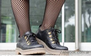 Laura Di Nizo Calzature - zapatos estilo montaña invierno 2019