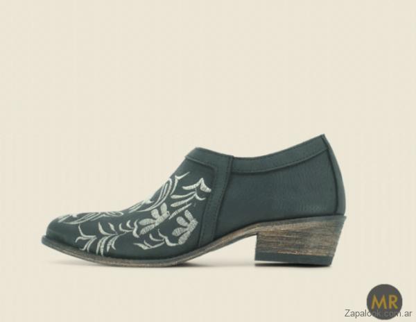 Maggio Rossetto - zapato mujer cuero texana invierno 2019