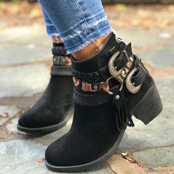8327eab491a botas negras texanas invierno 2019 – Anca Co – Zapalook