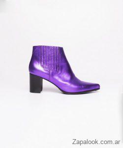 botas violetas metalizadas invierno 2019 Kosiuko