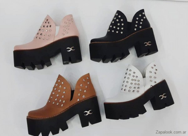 zapatos con suelta track invierno 2019 - Micaela - Pasos que enamoran