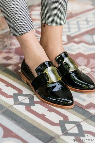 9b45ce92c4 Zapatos planos para mujer invierno 2019 – CestFini   Zapalook
