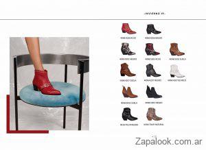 botas rojas invierno 2019 Lucerna
