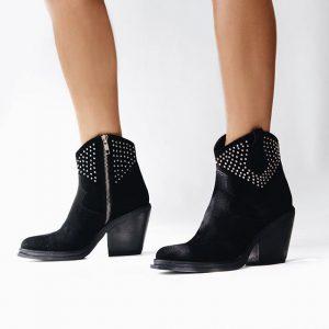 botas texanas negras invierno 2019 de Kloosters