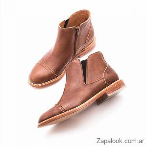 botitas marrones invierno 2019 Margie Franzini Shoes