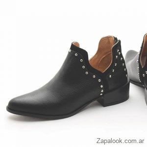 botitas negras invierno 2019 Margie Franzini Shoes