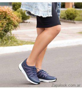 zapatillas azules invierno 2019 Piccadilly