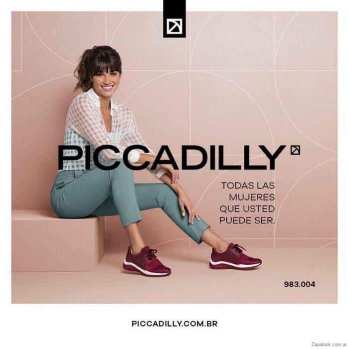 zapatillas purpura invierno 2019 Piccadilly