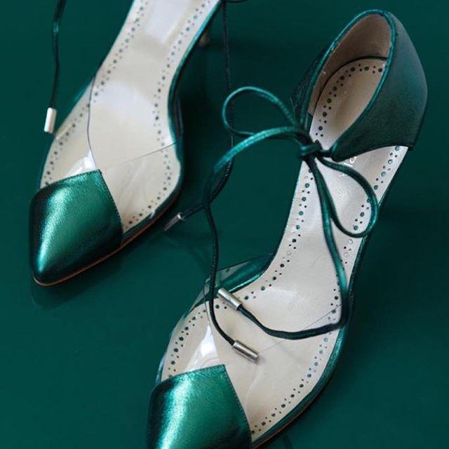 zapato noche verdes De Maria Invierno 2019