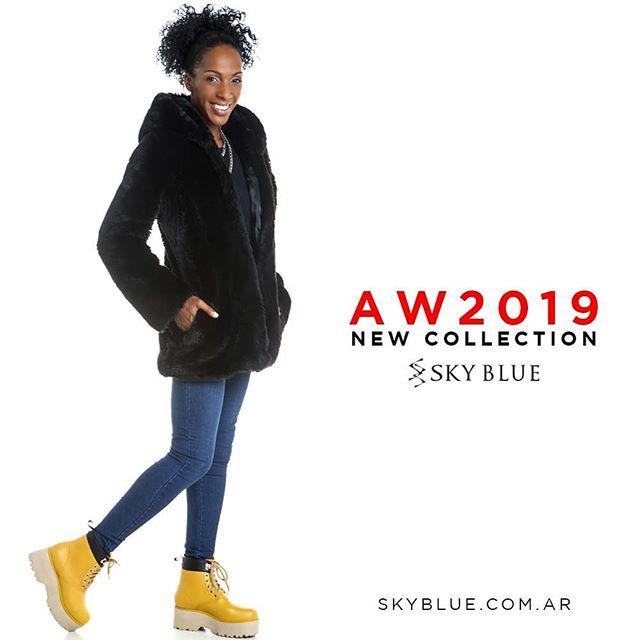 borcegies amarillos invierno 2019 Sky Blue