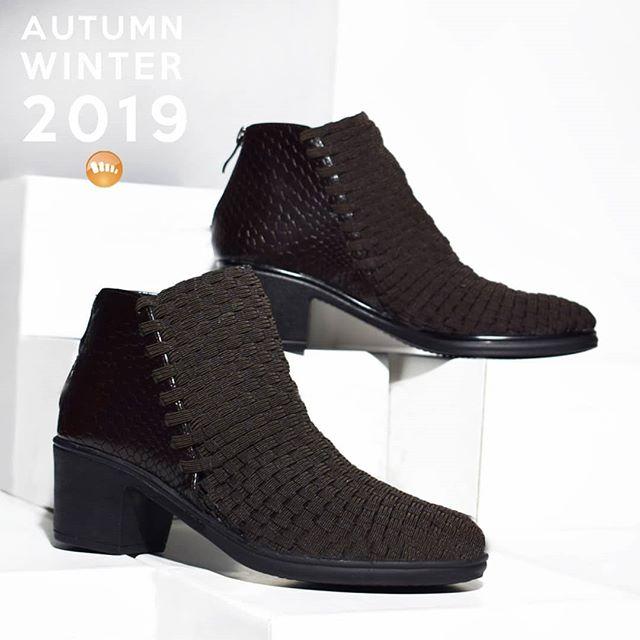 botas cuero trenzado invierno 2019 de Claris Shoes