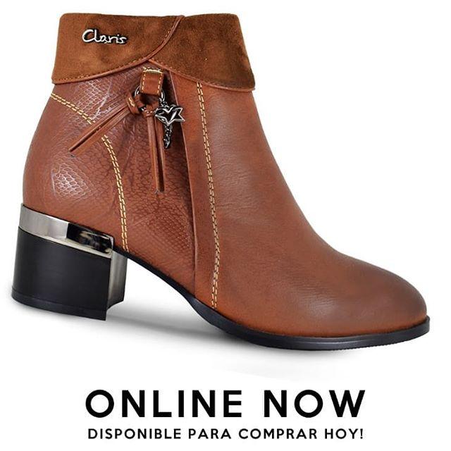 botitas de cuero invierno 2019 de Claris Shoes