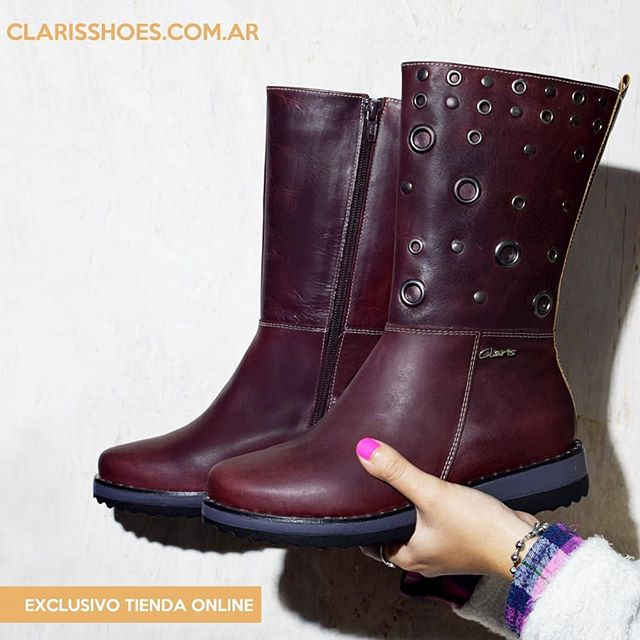 botitas informales invierno 2019 de Claris Shoes