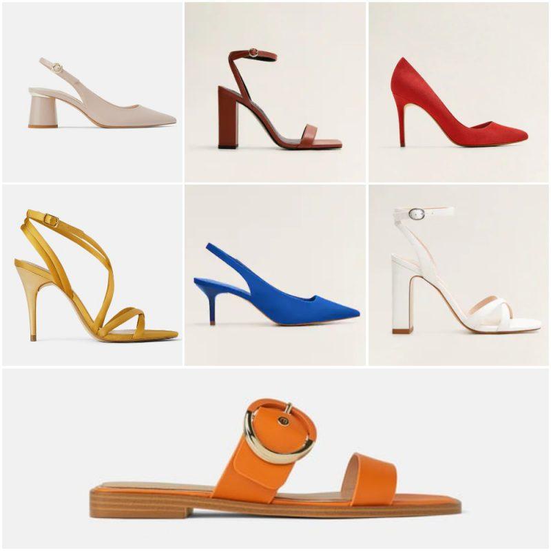 colores de capatos y sandalias verano 2020 Argentina