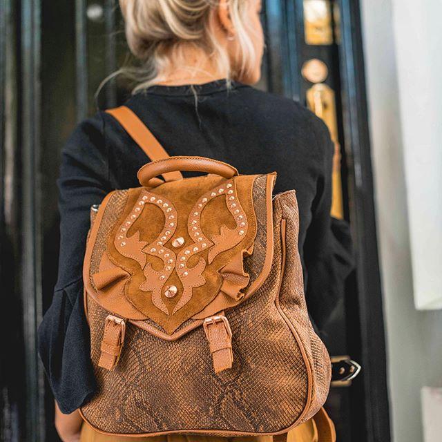 mochila cuero invierno 2019 Katakali