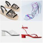 Sandalias de moda primavera verano 2020 - Argentina